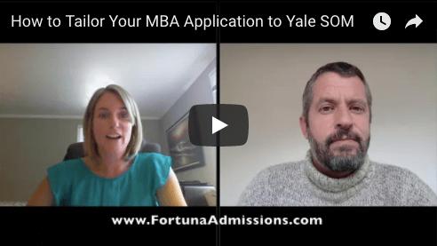 Yale SOM Video Advice