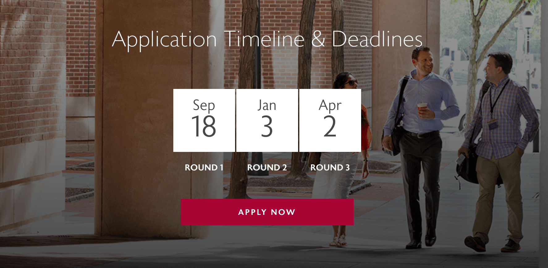 wharton deadlines 2018 2019